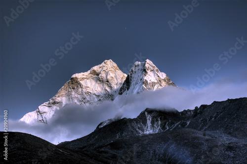 Poster Nepal Ama Dablam - Solo Khumbu, Himalaja, Nepal