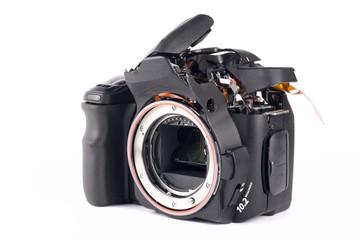 Broked DSLR camera