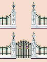 門 バッキンガム宮殿