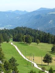 Vue sue le Jura suisse depuis la Tour de Moron 3
