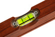Wasserwaage Holz Detail 1