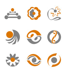 Set of abstract symbols