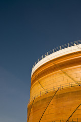 Gas industry Silo