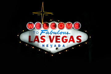 Welcome to Fabulous Las Vegas Nevada at dusk