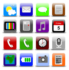 icons mobile phone