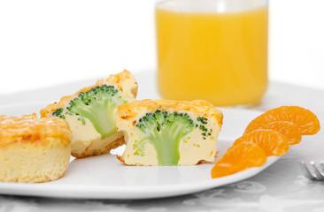 broccoli frittata muffins