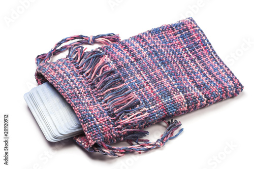 Handwoven Tarot bag