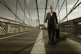 Gentleman on the bridge poster