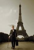 Gentleman in Paris poster