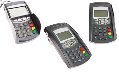 Credit card terminal and keypad