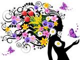 Fototapety Spring fairy