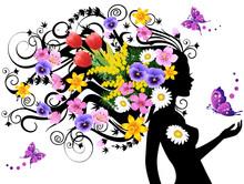 Весной фея