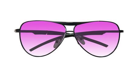 Pink sunglasses  on white