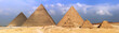 Great Pyramids, located in Giza. - 20935947