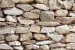 Texture of laying rocks.