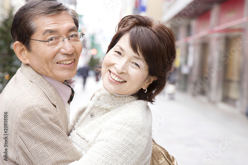 夫婦のポートレート