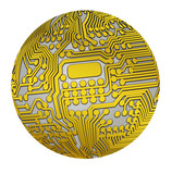 Spherical circuit golden version