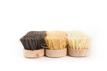 Tre spazzole lavare
