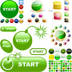 Start button for web.