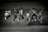 Fototapete Breakdance - Sport - Beim Laufen / Springen