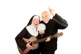 Angry musical priest and nun