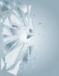 Broken Glass White 1