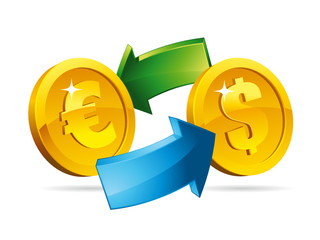 Change euro vs dollar