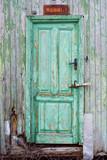 hardwood door poster