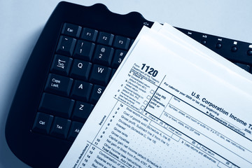 Online corporation tax form