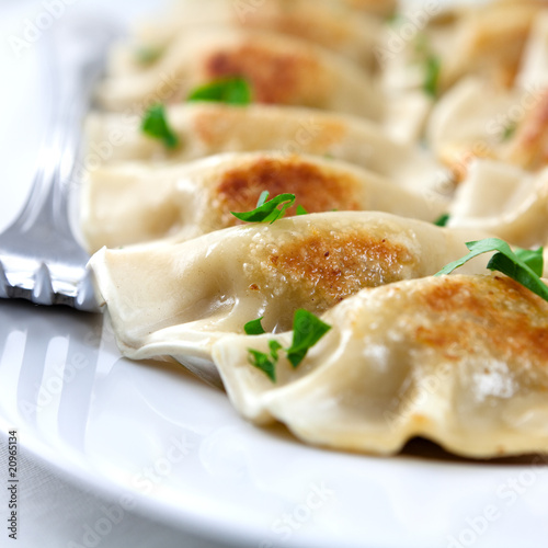 Pierogi.Polish Dish © B. and E. Dudziński