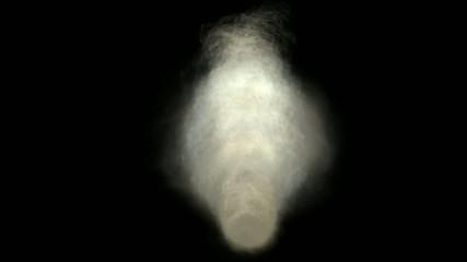 Animation of smoke and cloud,HD