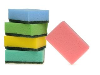 Set color sponge for washing
