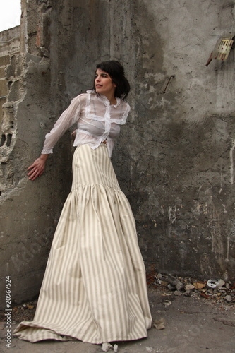 La longue jupe
