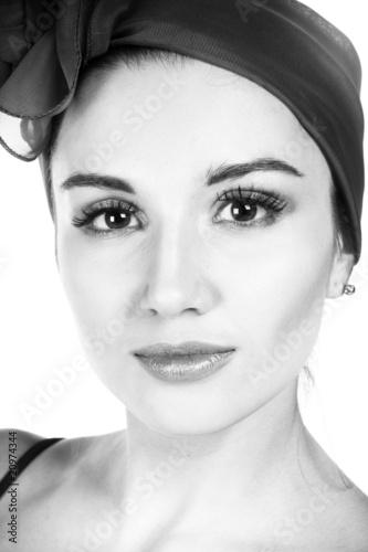 Pretty woman. B&W photography. © Alex_Mac