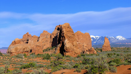 Stones and Desert, Arches National Park