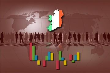Background statistics bars for Ireland