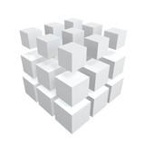 cubes array poster