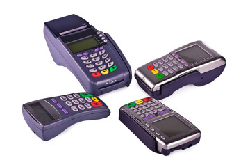 The payment terminals