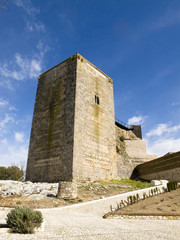 tower of homage in Estepa , Andalucia