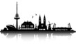 bremen skyline - top details