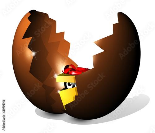 Uovo con Sorpresa-Easter Egg Surprise-Oeuf Surprise-3d