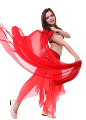 Eastern dancer