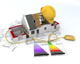 Energy efficient construction poster