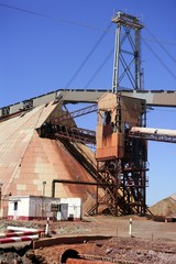 Excavation metal outdoor mine Riotinto
