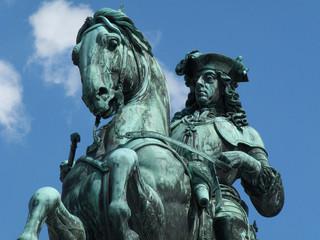 Prinz Eugen Reiterdenkmal Heldenplatz Hofburg Wien