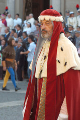 Corteo Storico Viterbo - Podestà XIII sec.