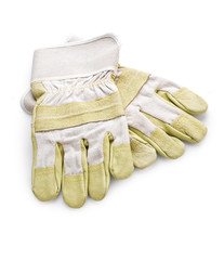 gloves isolated on a white backgroud