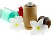 ambiance zen massage fleurs blanches huiles essentielles...