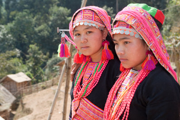Akha Frauen in Laos