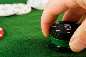 rischiare nel gioco d'azzardo